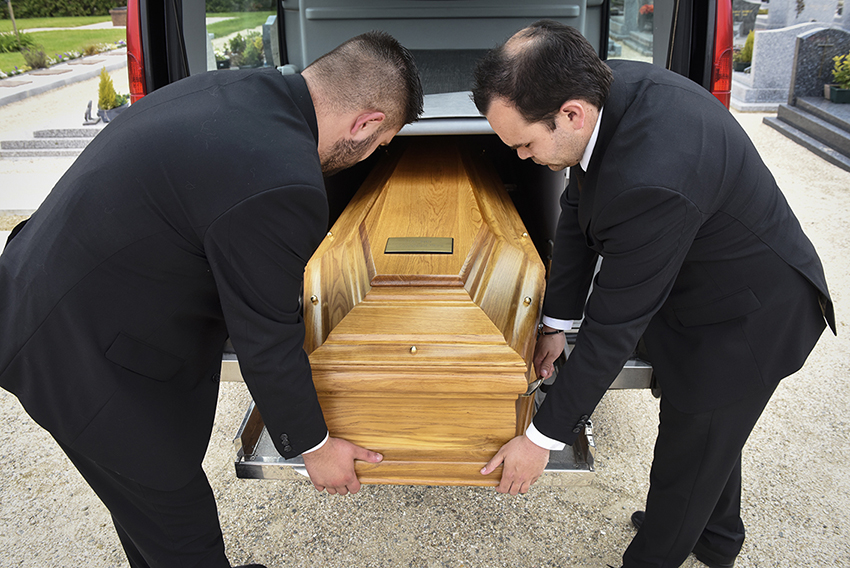 Portage cercueil